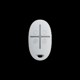 Ajax SpaceControl - карманный брелок для управления режимами охраны - Белый