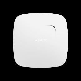 Ajax FireProtect Plus - беспроводной пожарный датчик с сенсорами температуры и угарного газа - Белый / Чёрный