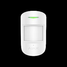 Ajax CombiProtect - Беспроводной комбинированный датчик движения и разбития - Белый