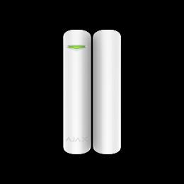 Ajax DoorProtect Plus - Беспроводной датчик открытия с сенсором удара и наклона - Белый / Чёрный