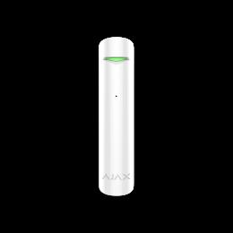 Ajax GlassProtect - миниатюрный беспроводной датчик сообщает о разбитии стекла - Белый