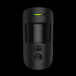 Ajax MotionCam - датчик движения с фотокамерой для верификации тревог - Чёрный
