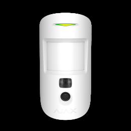 Ajax MotionCam - датчик движения с фотокамерой для верификации тревог - Белый / Чёрный