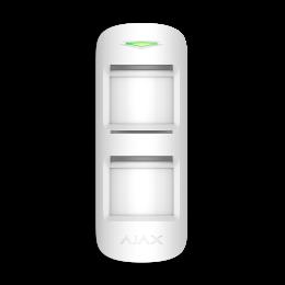 Ajax MotionProtect Outdoor - Уличный датчик движения с продвинутой защитой от маскирования и иммунитетом к животным - Белый