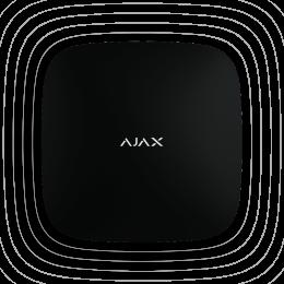 Ajax ReX - ретранслятор радиосигнала системы безопасности Ajax - Чёрный