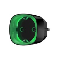 Ajax Socket - радиоуправляемая умная розетка со счетчиком энергопотребления - Белый / Чёрный