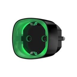 Ajax Socket - радиоуправляемая умная розетка со счетчиком энергопотребления - Чёрный