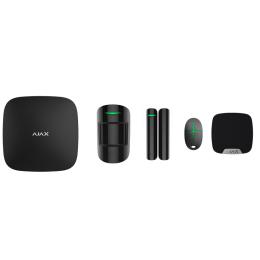 Ajax StarterKit - стартовый комплект сигнализации + HomeSiren - комнатная сирена - чёрный
