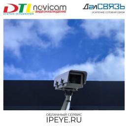Онлайн камеры Novicam Basic с облачным сервисом IPEYE и видео с камер на вашем сайте