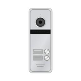 Novicam FANTASY 2 HD SILVER - 2 абонентская HD вызывная панель 1.3 Мп