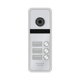 Novicam FANTASY 3 HD SILVER - 3 абонентская HD вызывная панель 1.3 Мп