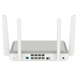 Keenetic Giant - KN-2610 - Гигабитный интернет-центр с двухдиапазонным 2,4 + 5 ГГц Mesh Wi-Fi AC1300, двухъядерным процессором, 9-портовым коммутатором Smart Pro, портами SFP, USB 3.0 и 2.0