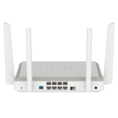 68 150₸ — Keenetic Giant - KN-2610 - Гигабитный интернет-центр с двухдиапазонным Mesh Wi-Fi AC1300, двухъядерным процессором, 9-портовым коммутатором Smart Pro, портами SFP, USB 3.0 и 2.0