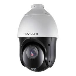 Novicam PRO 225 (ver.1259) - купольная уличная поворотная IP камера, 2.1 Мп, 4.8~120 мм, 25х, 64.5°~2.9°, IP67, ИК 100 м, Micro SD до 256 Гб, PoE, -45°