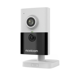 Novicam PRO 25 - внутренняя IP видеокамера с Wi-Fi и RJ 45, 2 Мп, 2.8 мм, 135°, ИК 10 м, микрофон, Micro SD до 128 Гб, PoE, -30°С