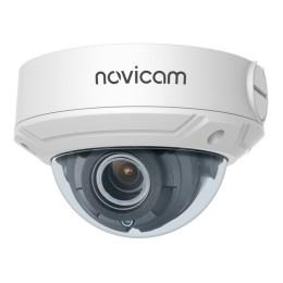 Novicam PRO 27 (ver.1283) - уличная купольная IP камера, 2 Мп, 2.8~11 мм, 115°~40°, IP67, ИК 30 м, Micro SD до 128 Гб, PoE, -40°