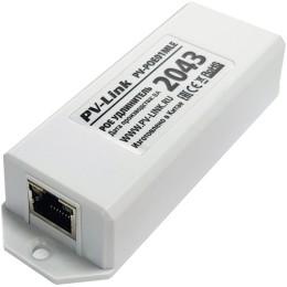 PV-POE01MLE - одноканальный удлинитель PoE с базовой скоростью передачи данных 10/100 Мбит/с