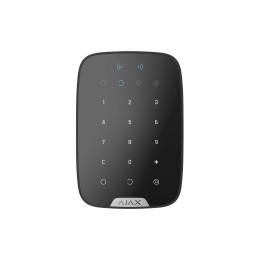 Ajax KeyPad Plus - беспроводная клавиатура с поддержкой защищенных бесконтактных карт и брелоков - Чёрный