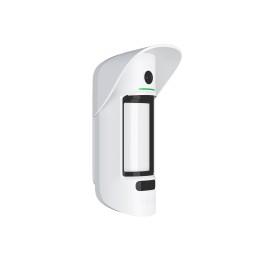 Ajax MotionCam Outdoor - беспроводной уличный датчик движения с фотокамерой для верификации тревог - Белый
