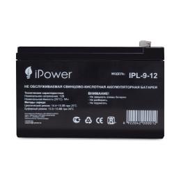 Аккумуляторная батарея IPower IPL-9-12 - 12 Вольт 9 Ампер АКБ