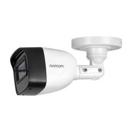 Novicam HIT 53 (ver.1401) - уличная камера пуля TVI, AHD, CVI, с микрофоном AoC - 5 Мп, 3.6 мм, 106°, ИК 30м, IP67, -45°
