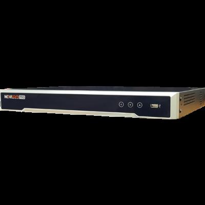 186 248₸ — Novicam NR2816-P16 (ver.3054) - 16 канальный IP регистратор c 16 PoE портами до 8 mpx - 4K