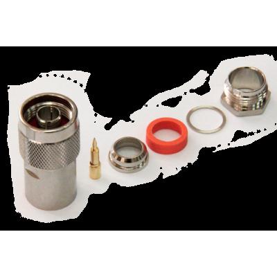 2 042₸ — Разъем N-112C/8D - прижимной N-типа для кабеля 8D-FB, центральный контакт цанговый